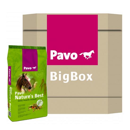 Pavo Nature's Best Big Box 550kg