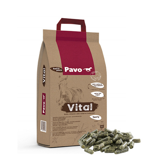 Pavo Vital 8 kg - Utántöltő papír zsákban